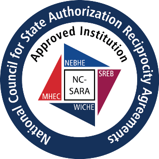 NC-SARA approved institution badge