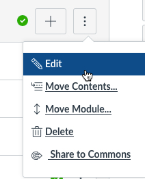 The Edit menu is selected from the drop-down menu.